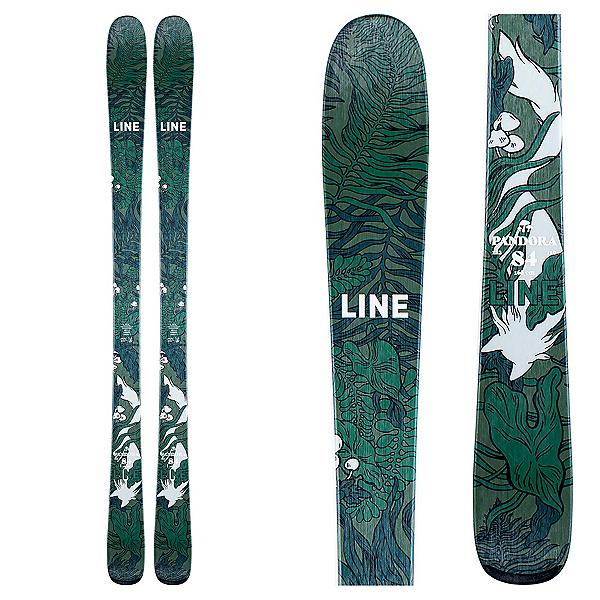 Line Pandora 84 Womens Skis 2021, , 600