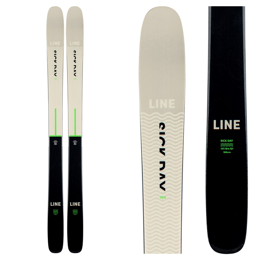 Line Sick Day 104 Skis 2021