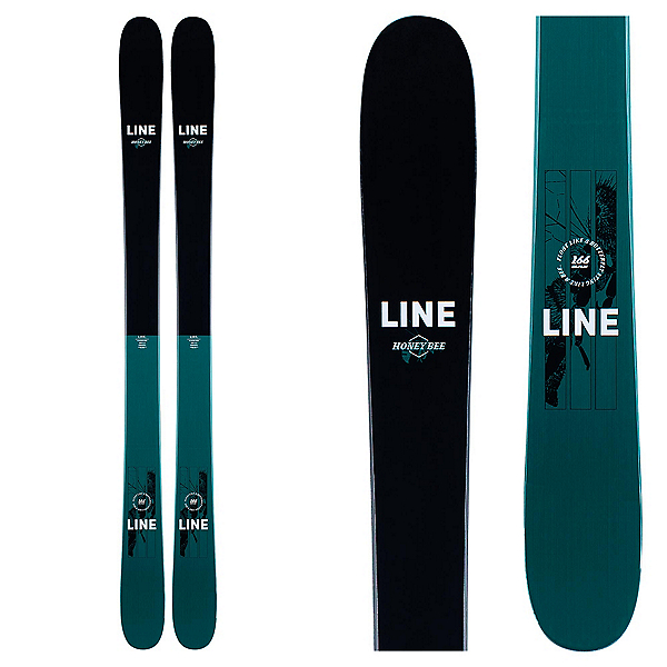 Line Honey Bee Womens Skis 2021, , 600
