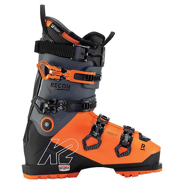 K2 Recon 130 MV Ski Boots, Orange-Black, 600