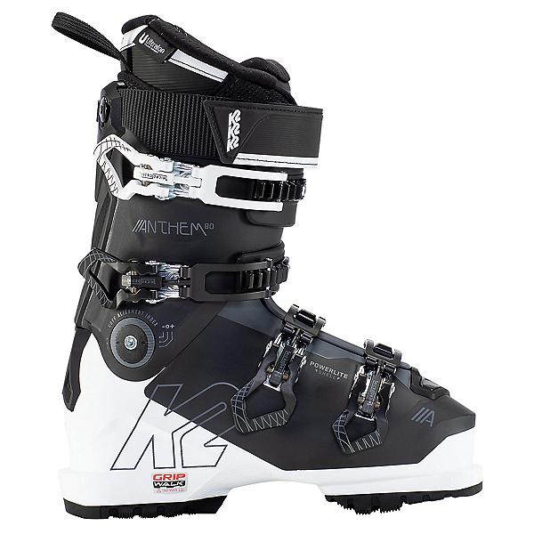 K2 Anthem 80 LV Womens Ski Boots, Black-White, 600