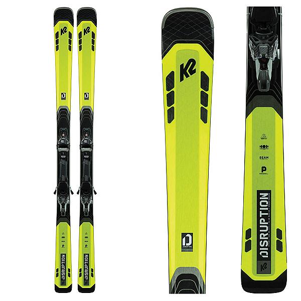 K2 Disruption 82Ti Skis with MXC 12 TCx Bindings, , 600