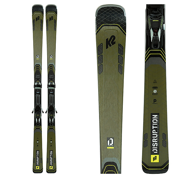 K2 Disruption 78Ti Skis with MXC 12 TCx Bindings 2021, , 600