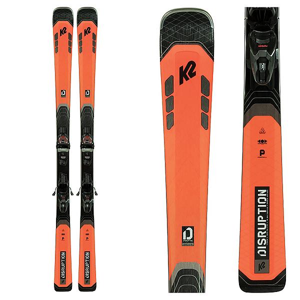 K2 Disruption 78C Skis with M3 11 Bindings, , 600
