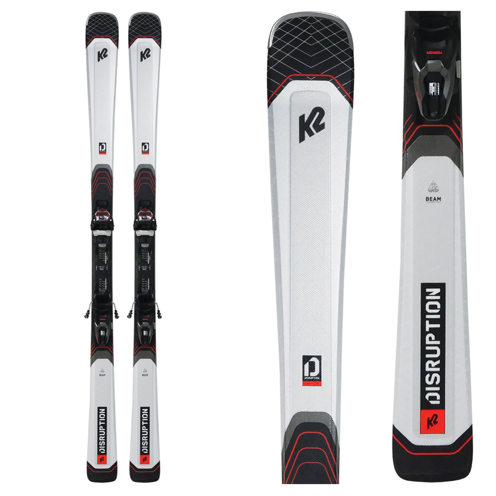K2 Disruption 76X Skis with M3 10 Bindings
