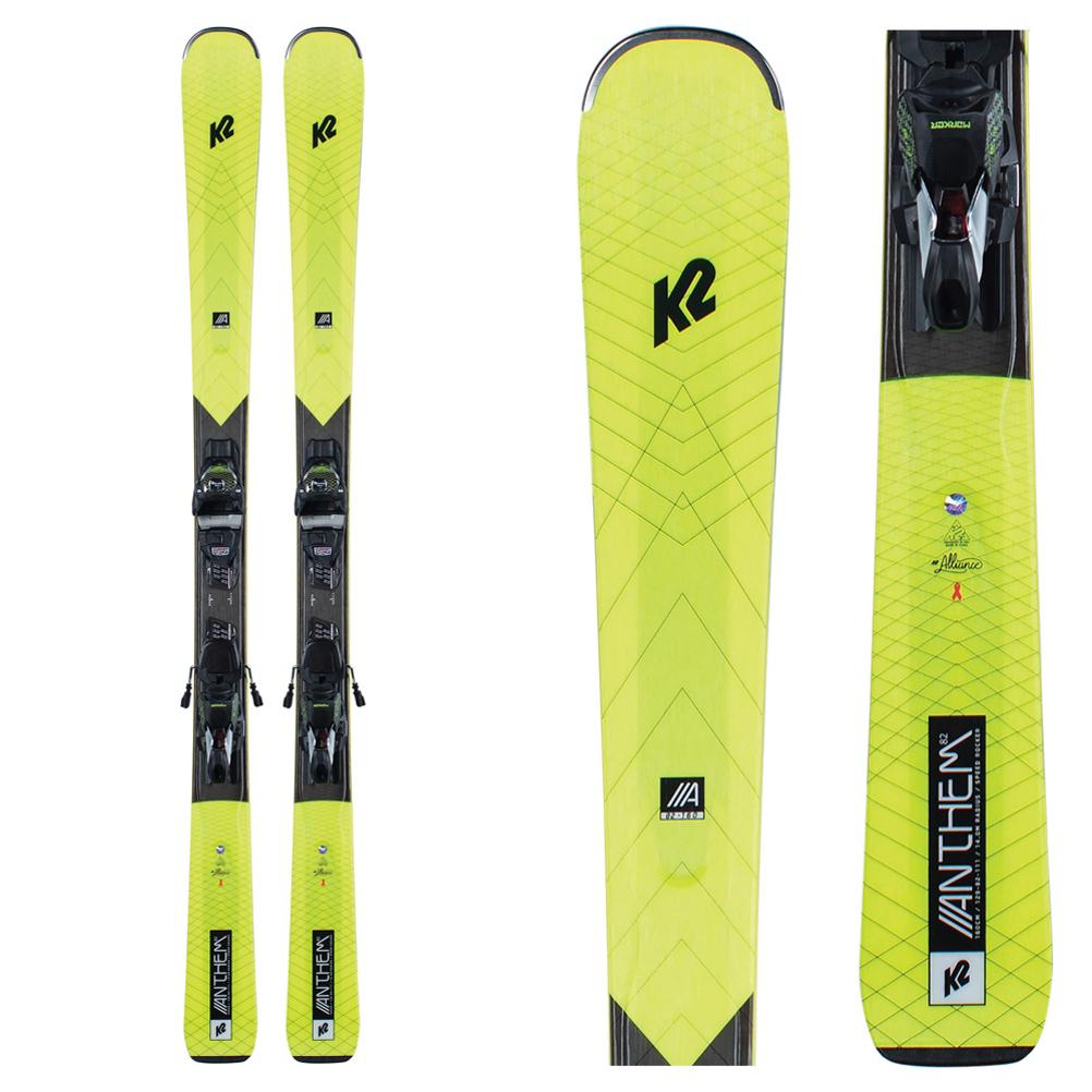K2 Anthem 82 Womens Skis with ERC 11 TCx Bindings