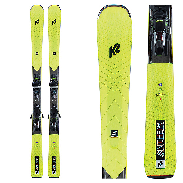 K2 Anthem 82 Womens Skis with ERC 11 TCx Bindings, , 600