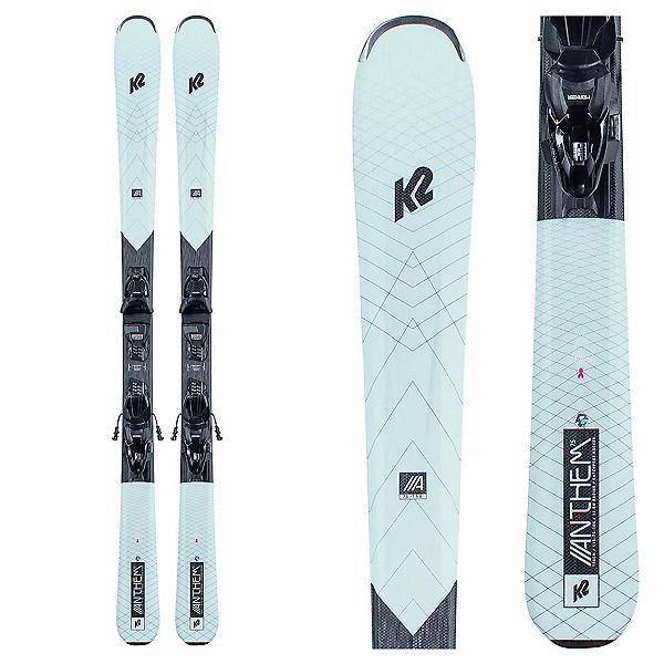 K2 Anthem 75 Womens Skis with ERP 10 Bindings, , 600