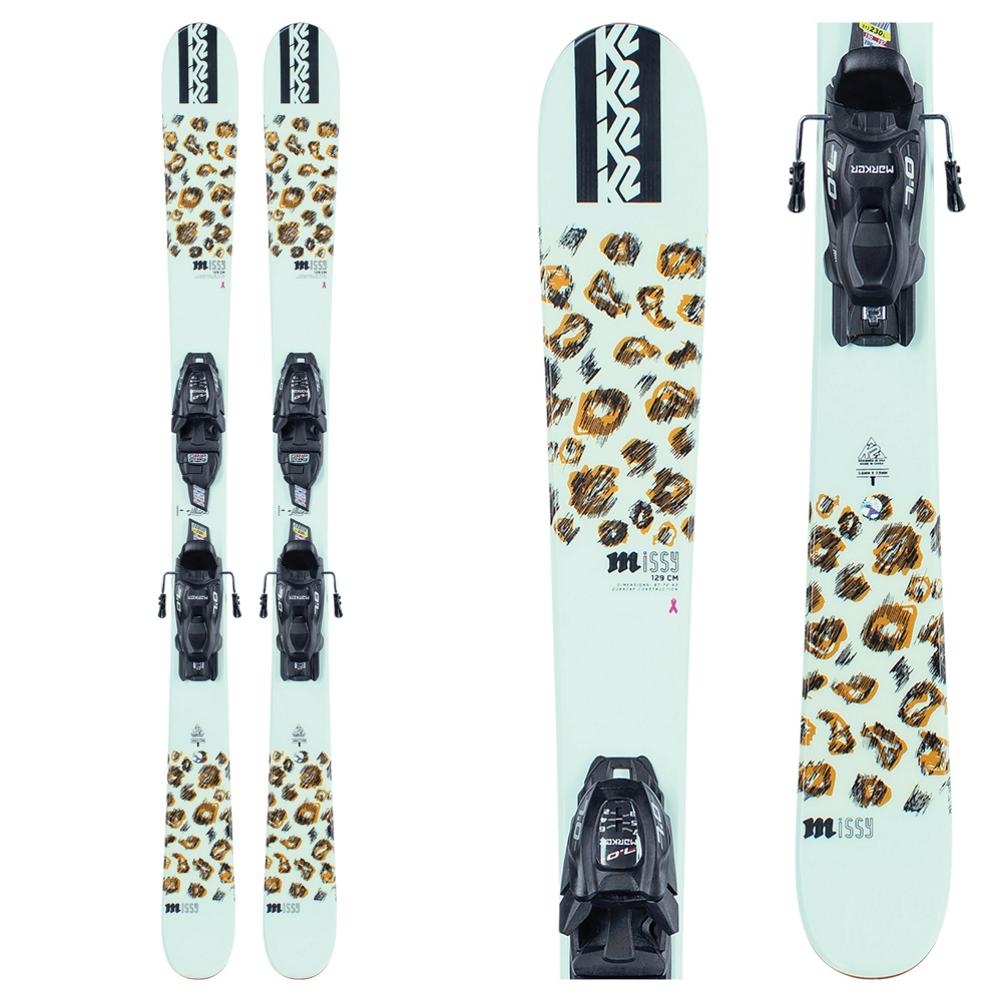 K2 Missy 4.5 Kids Skis with FDT Jr 4.5 Bindings