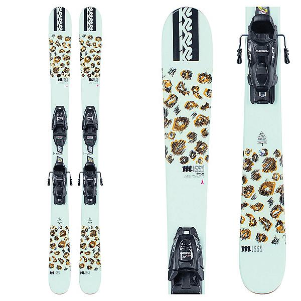 K2 Missy 7.0 Kids Skis with FDT Jr 7.0 Bindings 2021, , 600