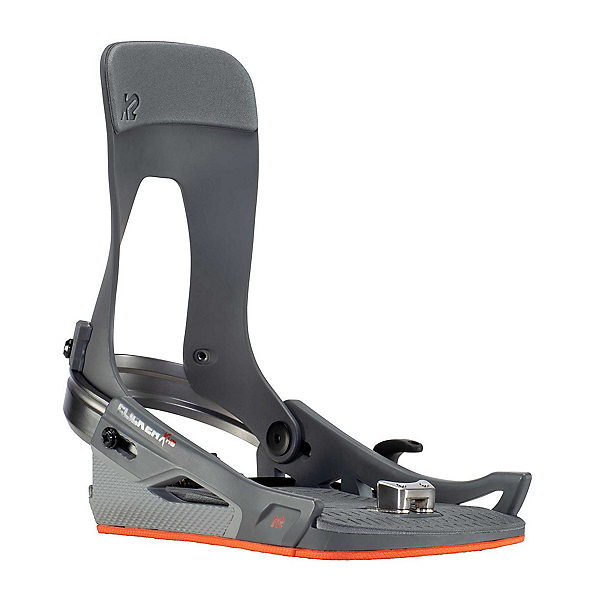 K2 Clicker X HB Snowboard Bindings, Grey, 600