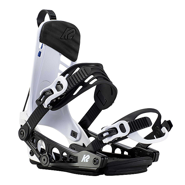 K2 Cinch TS Snowboard Bindings 2021, White, 600