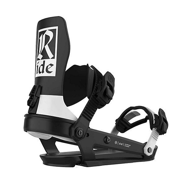 Ride A-6 Snowboard Bindings, Classic Black, 600