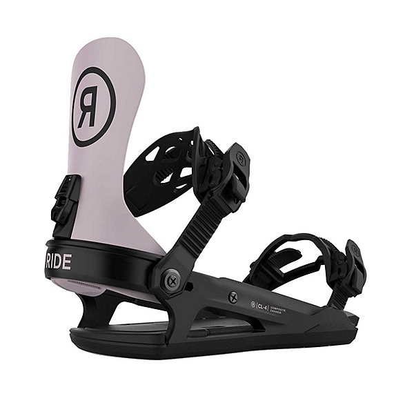 Ride CL-4 Womens Snowboard Bindings, Hushed Violet, 600