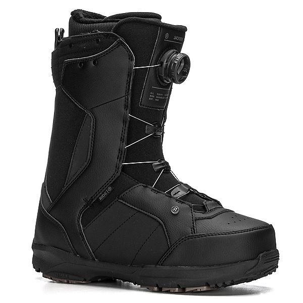 Ride Jackson Boa Coiler Snowboard Boots, Black, 600