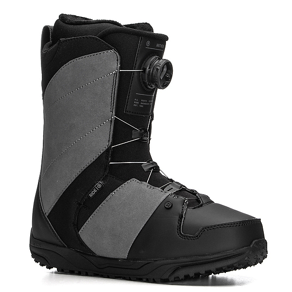 Ride Anthem Boa Snowboard Boots, Grey, 600