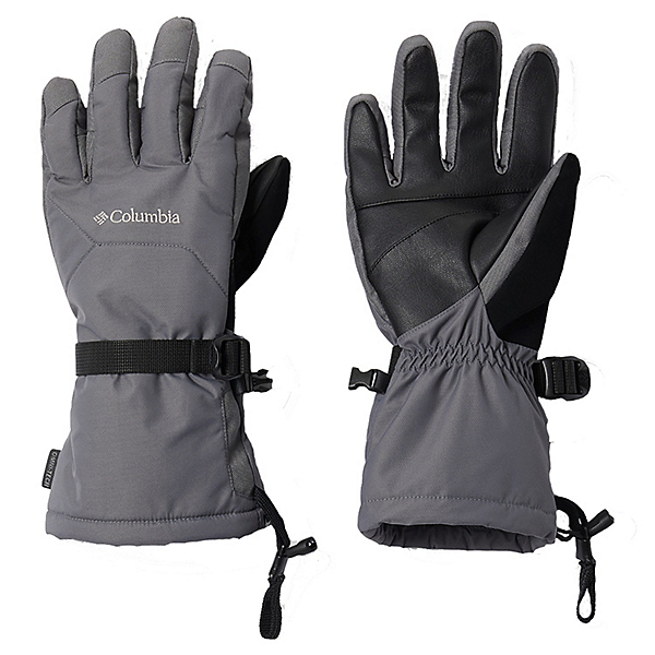 Columbia Whirlibird Mens Gloves 2021 2022, City Grey, 600