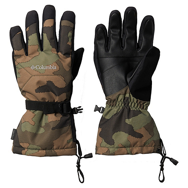Columbia Whirlibird Mens Gloves 2021, Cypress Traditional Camo, 600