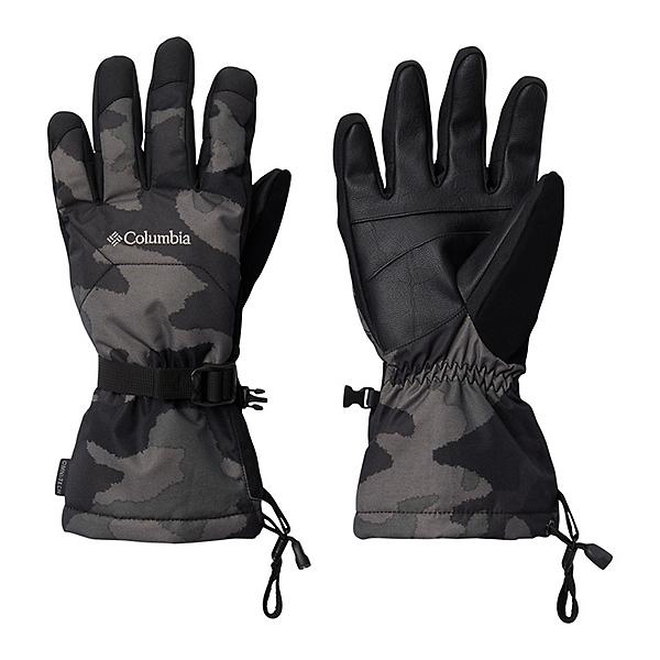 Columbia Whirlibird Mens Gloves 2021 2022, Black Trad Camo, 600