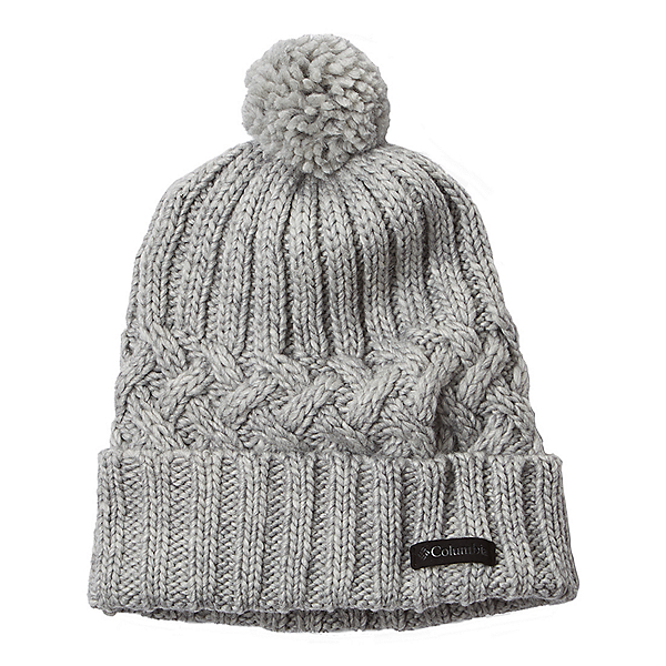 Columbia Hideaway Haven Beanie 2021, Charcoal Heather, 600