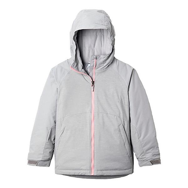 Columbia Action Alpine II Toddler Girls Jacket 2021, Columbia Grey Heather-Columbia, 600