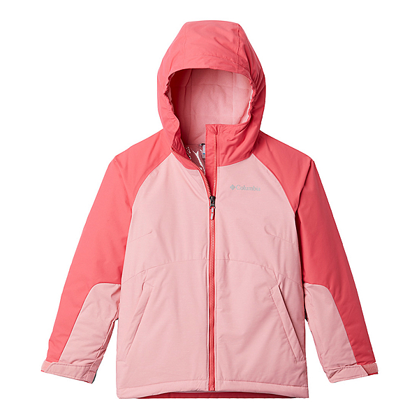 Columbia Action Alpine II Toddler Girls Jacket 2021, Pink Orchid Heather-Bright Ger, 600