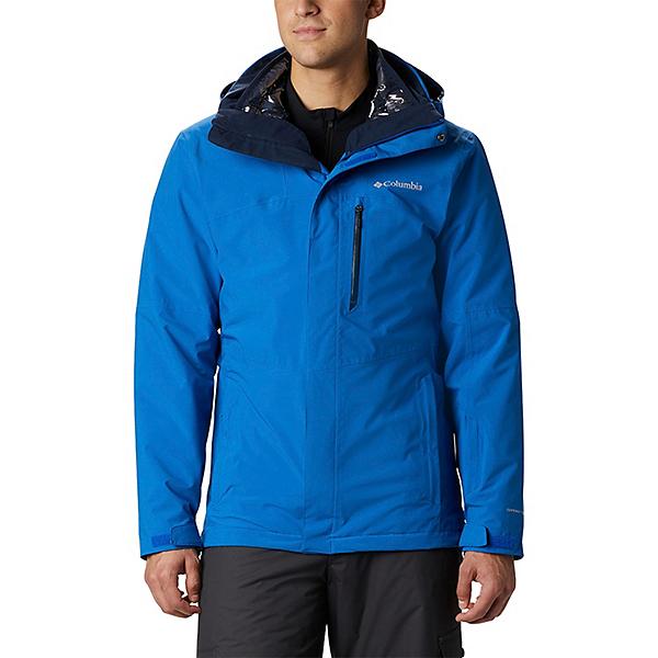 Columbia Wild Card Interchange Mens Insulated Ski Jacket 2021, Bright Indigo, 600