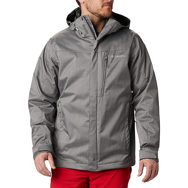 Columbia Whirlibird IV Interchange - Tall Mens Insulated Ski Jacket 2021, City Grey Melange, 600