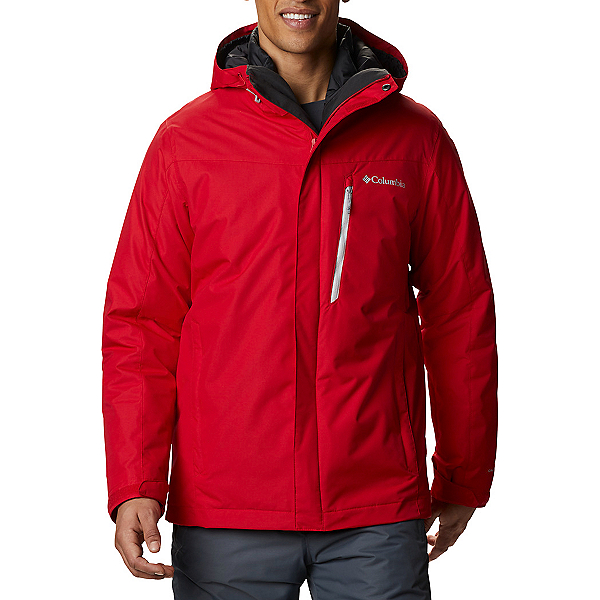 Columbia Whirlibird IV Interchange - Tall Mens Insulated Ski Jacket 2021, Mountain Red, 600