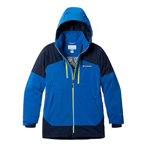Columbia Wild Card Mens Insulated Ski Jacket 2021, Bright Indigo-Collegiate Navy, 600