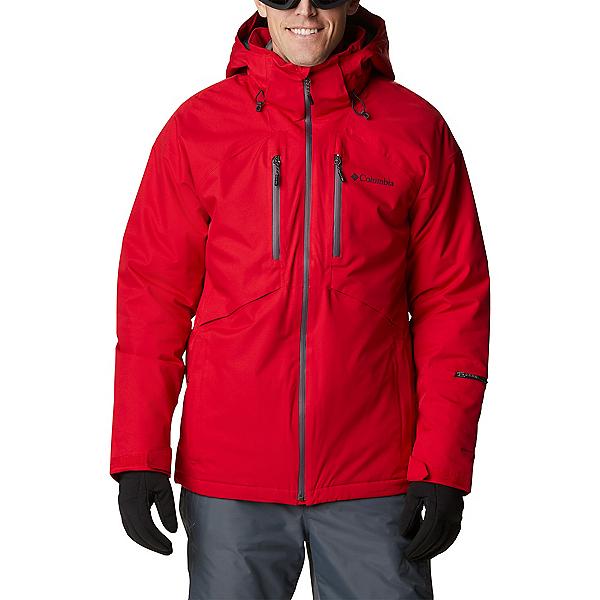 Columbia Peak Divide Mens Insulated Ski Jacket 2021, Mountain Red, 600
