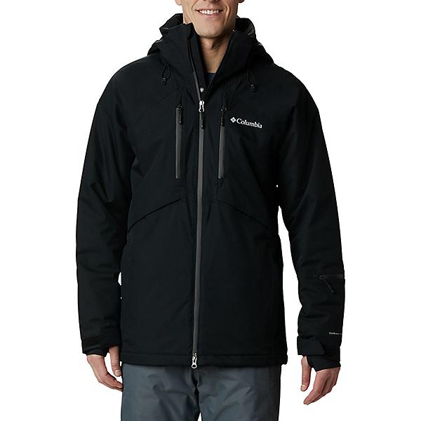 Columbia Peak Divide Mens Insulated Ski Jacket 2021, Black, 600