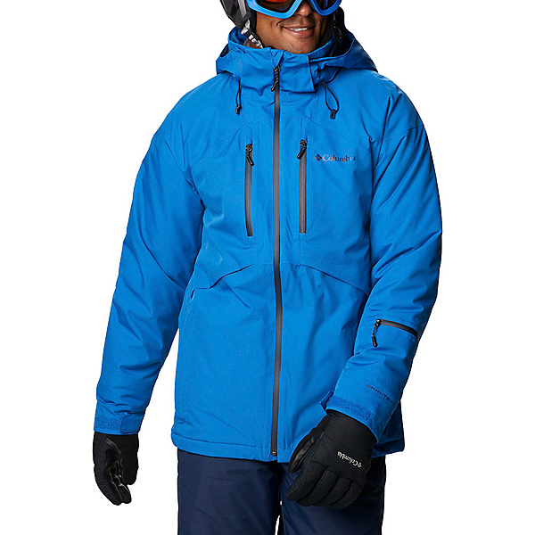 Columbia Peak Divide Mens Insulated Ski Jacket 2021, Bright Indigo, 600
