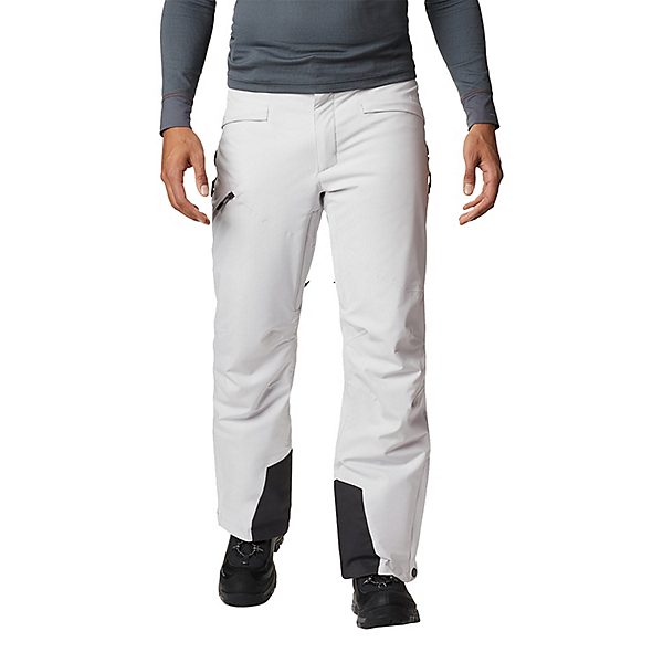 Columbia Kick Turn Mens Ski Pants 2021, Nimbus Grey, 600