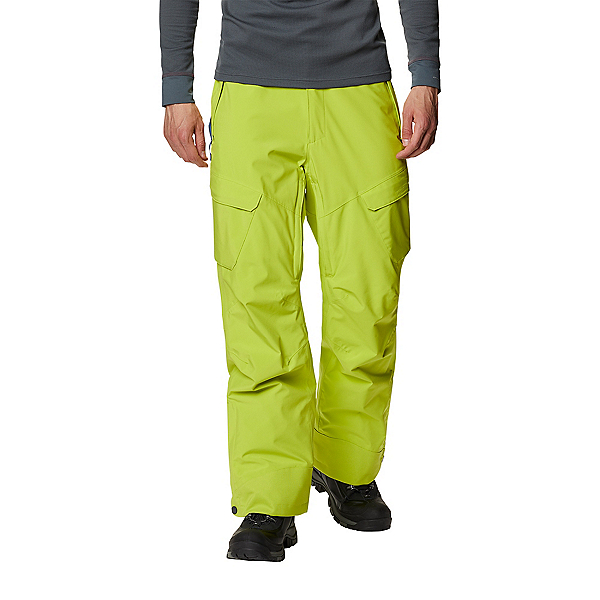 Columbia Powder Stash Men Ski Pants 2022, Bright Chartreuse, 600
