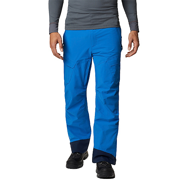 Columbia Powder Stash - Short Men Ski Pants 2021, Bright Indigo, 600