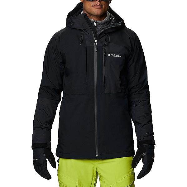 Columbia Banked Run Mens Shell Ski Jacket 2021, Black, 600