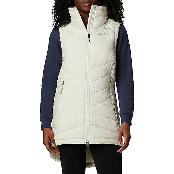 Columbia Heavenly Long Womens Vest 2021, Chalk, 600