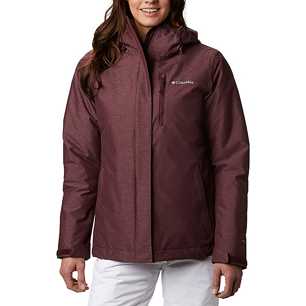 Columbia Whirlibird IV Interchange - Plus Womens Insulated Ski Jacket 2021, Malbec Crossdye, 600