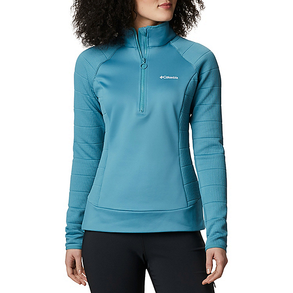 Columbia Roffe Ridge 1/2 Zip Womens Mid Layer 2021, Canyon Blue, 600