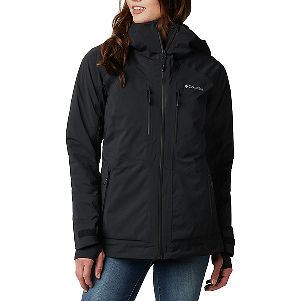 Columbia Wild Card Womens Insulated Ski Jacket 2021, Black, 600