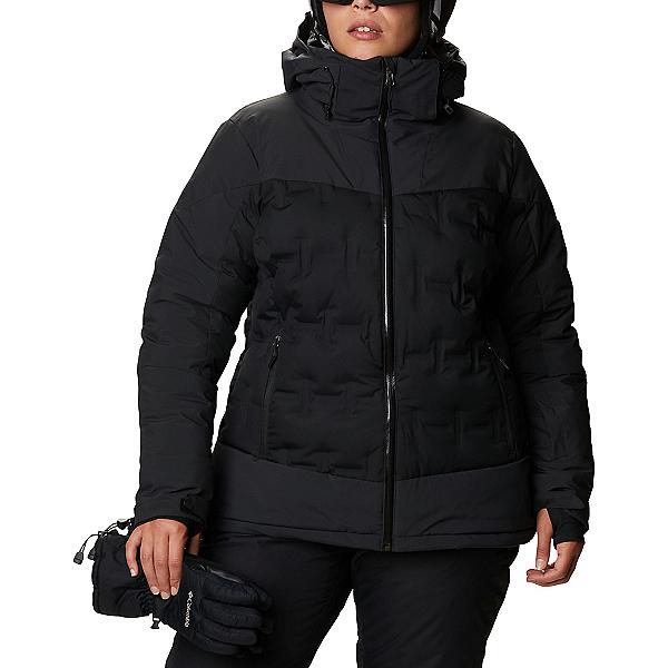 Columbia Wild Card Down Womens Insulated Ski Jacket 2021, Black, 600