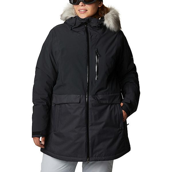 Columbia Mount Bindo - Plus Womens Insulated Ski Jacket 2021, Black, 600
