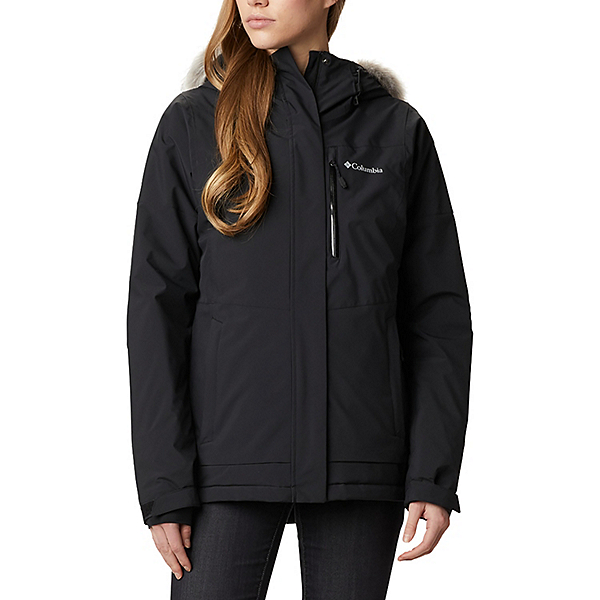 Columbia Ava Alpine Womens Insulated Ski Jacket 2021, Black, 600