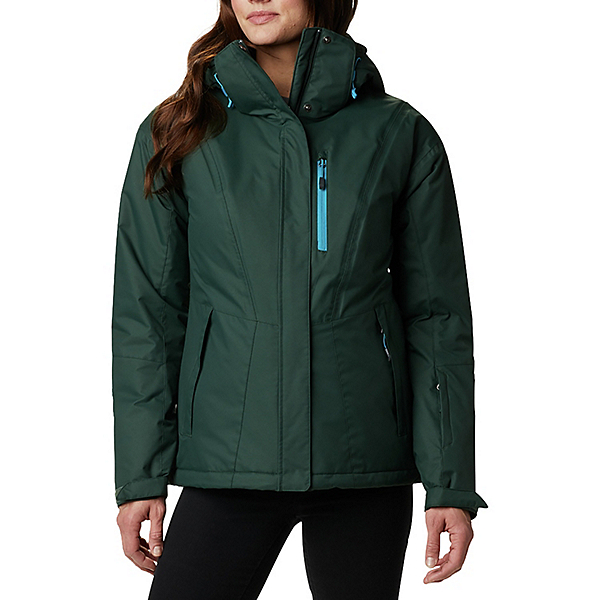 Columbia Last Tracks Womens Insulated Ski Jacket 2021, Spruce, 600