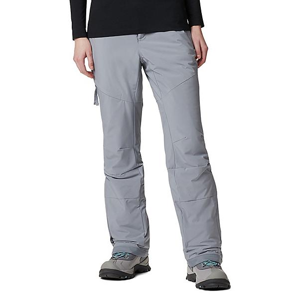 Columbia Kick Turner Insulated Womens Ski Pants 2021, Grey Ash, 600