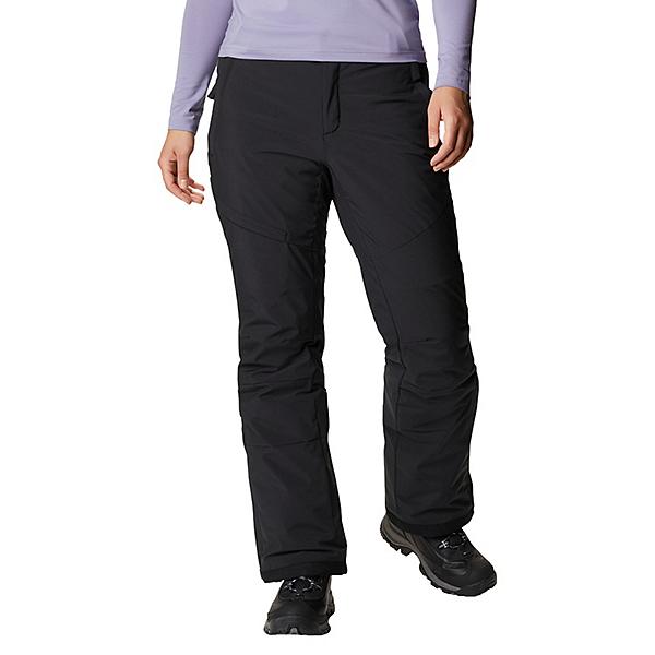 Columbia Kick Turner Insulated Womens Ski Pants 2021 2022, Black, 600
