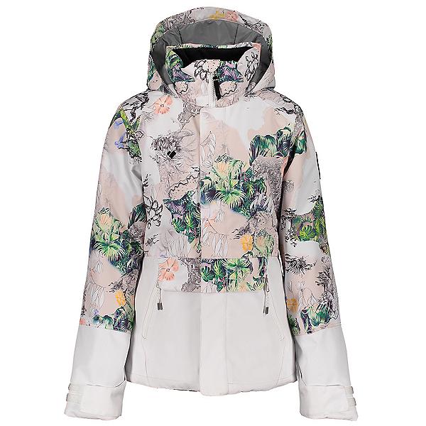 Obermeyer Taja Print Girls Ski Jacket 2021, Tell Me A Story, 600