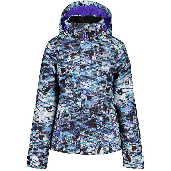 Obermeyer Taja Print Girls Ski Jacket 2021, , 600