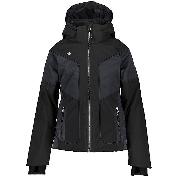 Obermeyer Rayla Girls Ski Jacket 2021, Black, 600
